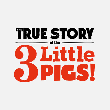 The True Story of the 3 Little Pigs! Logo Pack