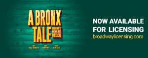 A Bronx Tale Now Available for Licensing