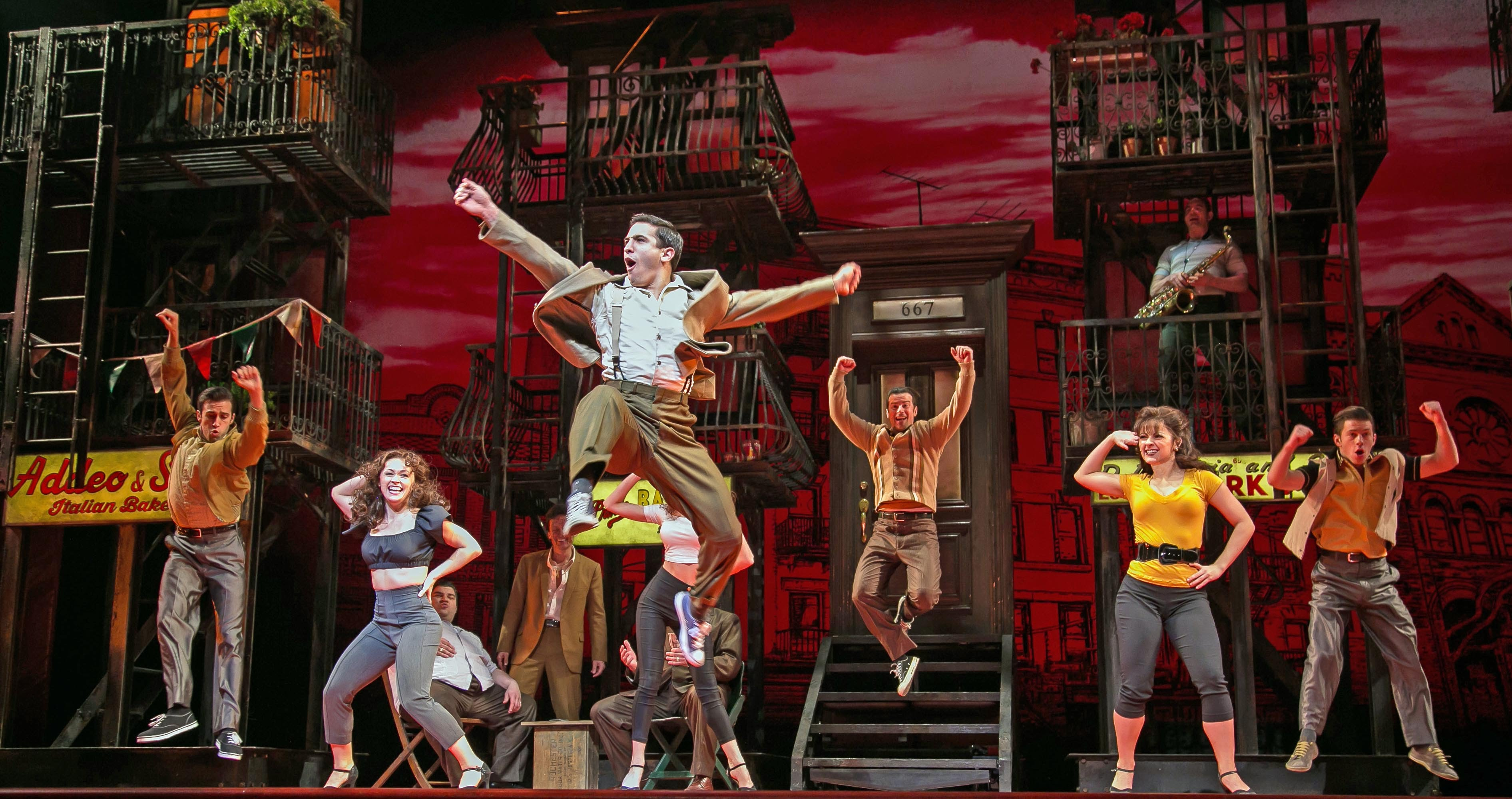 a bronx tale comes to broadway licensing broadway licensing