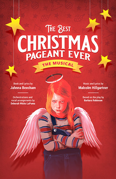 The Best Christmas Pageant Ever Theatre Poster